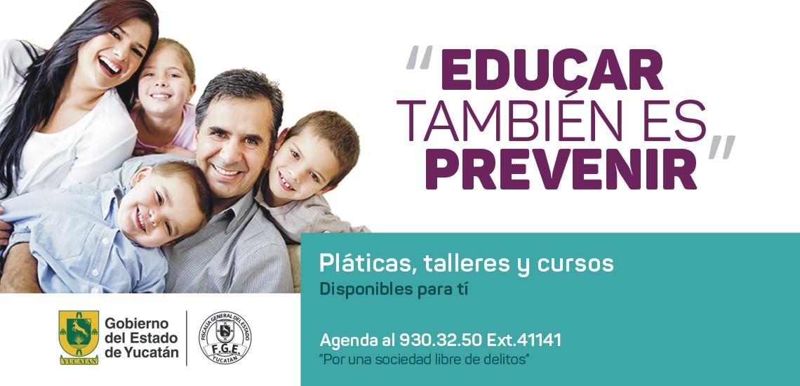 Educar también es prevenir