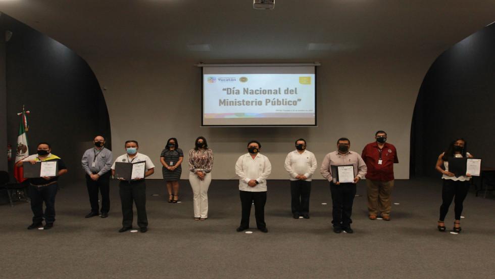 CONMEMORA FISCALÍA EL DIA NACIONAL DEL MINISTERIO PÚBLICO