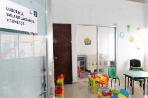 Brinda FGE espacios para lactancia materna
