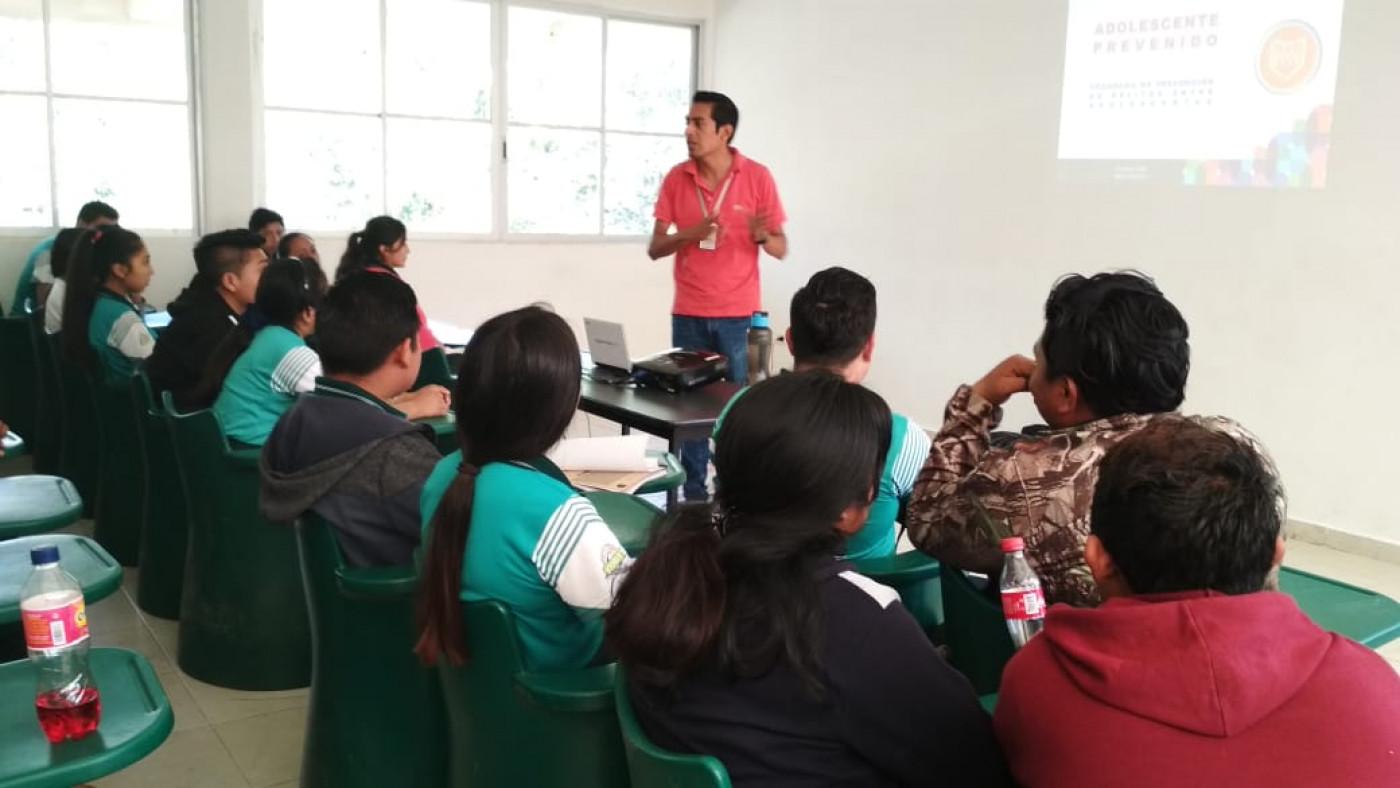 Visita al Cobay plantel Tixmehuac