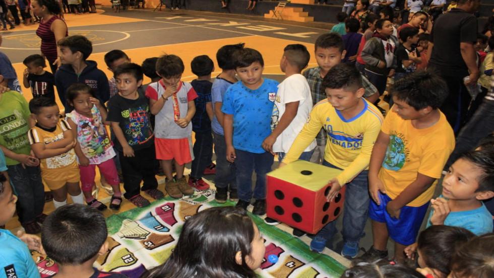 Más de 550 niñas y niños en la Feria de la prevención, en Tekax