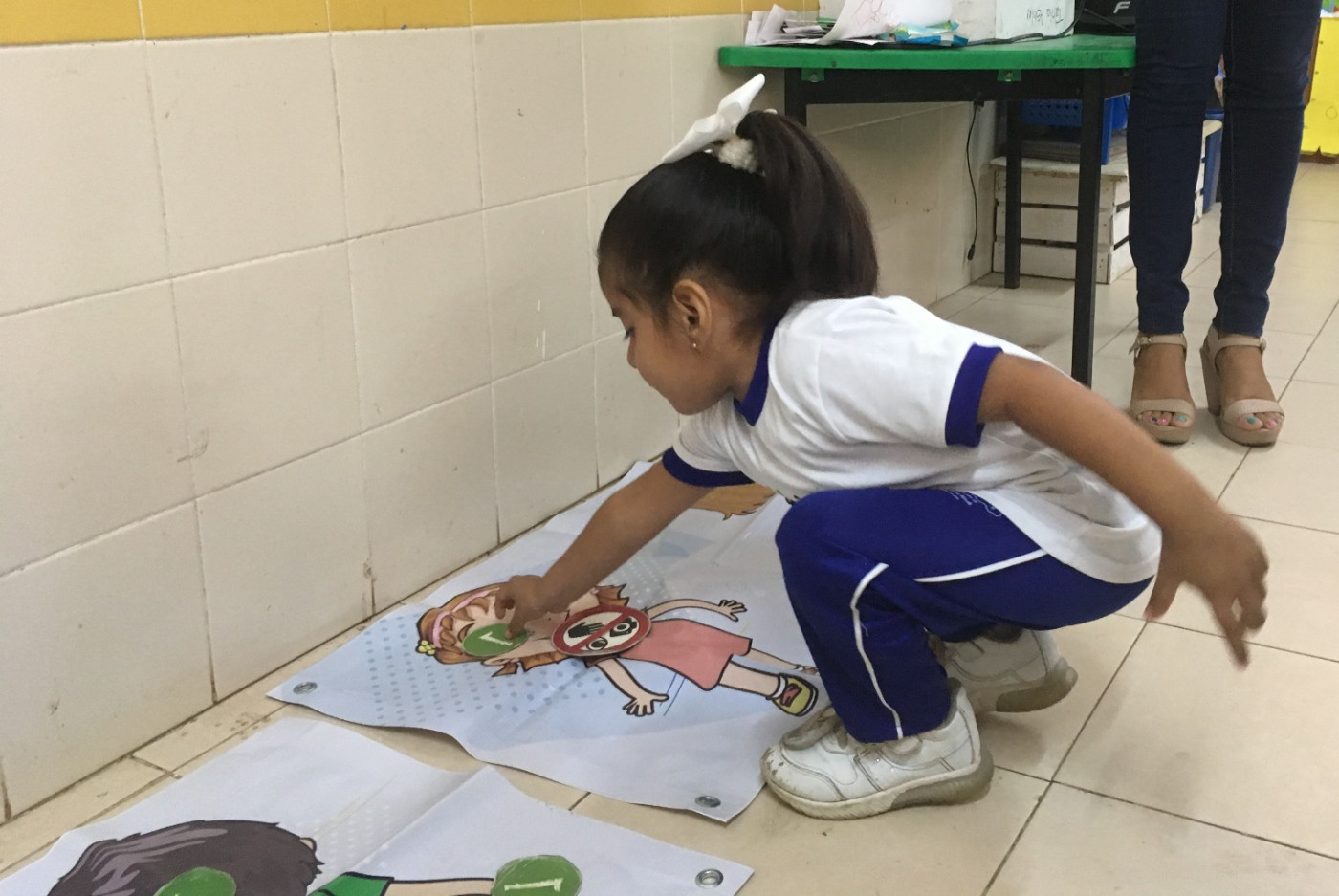 Pláticas de Prevención del Delito en el Jardín de Niños Rayito de Sol en Mérida