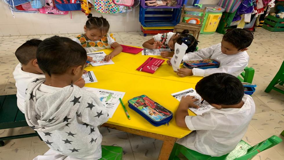 Programas de prevención del delito en el preescolar Humberto Lara y Lara.