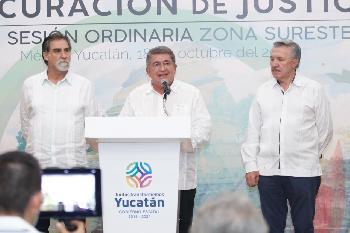 Fiscales refuerzan cooperación en favor de la zona sur-sureste